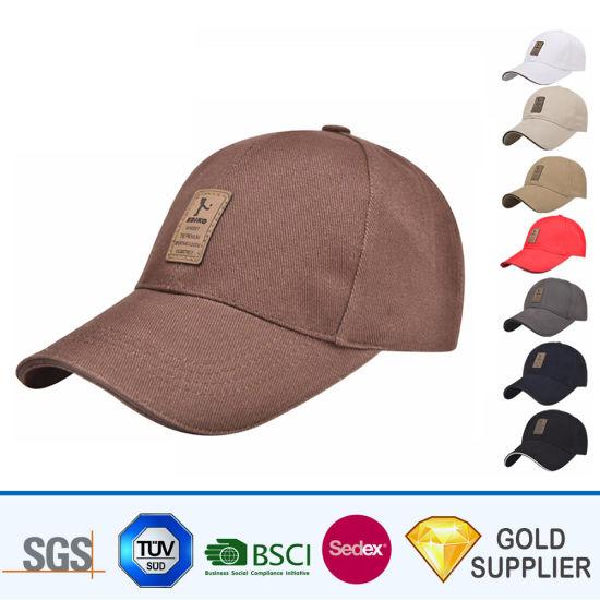 27dbe7bcefe439 Wholesale Custom Promotional Dad 5/6 Panel Hat Black 100% Cotton Polyester  Microfiber Denim Letter Embroidery Printing Snapback Breathable Sport  Baseball ...