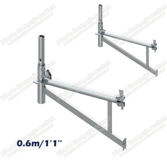 China 0 6m/1′1′′ Side Bracket (Hop-Up) HDG Galvanizing for Ringlock