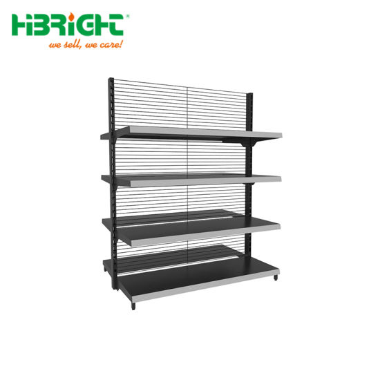 Modern Standard Price Supermarket Wall Gondola Shelving pictures & photos