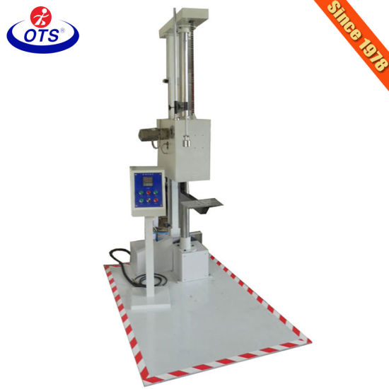 LCD Touch Screen Electronic Adjustable Computerized Packaging Drop Testing Machine
