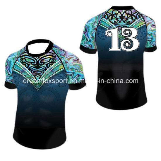 Maori Sublimation Rugby Shirt Custom