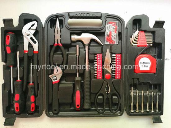 124PCS DIY Household Plastic Tool Set (FY124B)