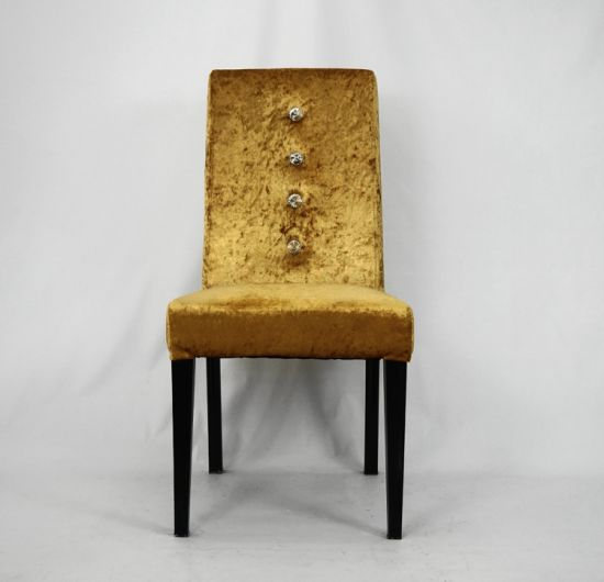 High Quality Metal Frame Fabric Covering Restaruant Furniture Chair