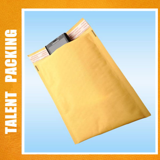 Air Bubble Mailer Envelopes Factory Wrap Bags in White Yellow Color