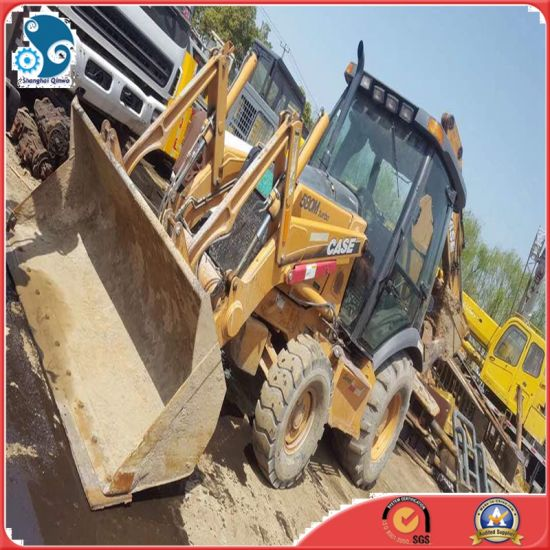 China Used Case 580 Small Backhoe Loader with SGS