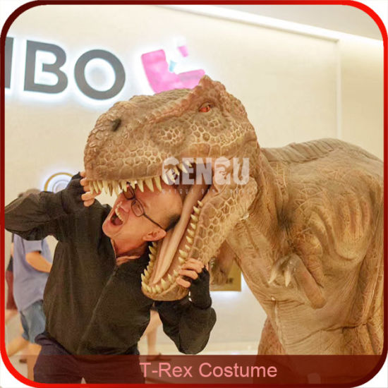 87a751fdf T Rex Dinosaur Costume Silicon Rubber Dinosaur Costume pictures & photos