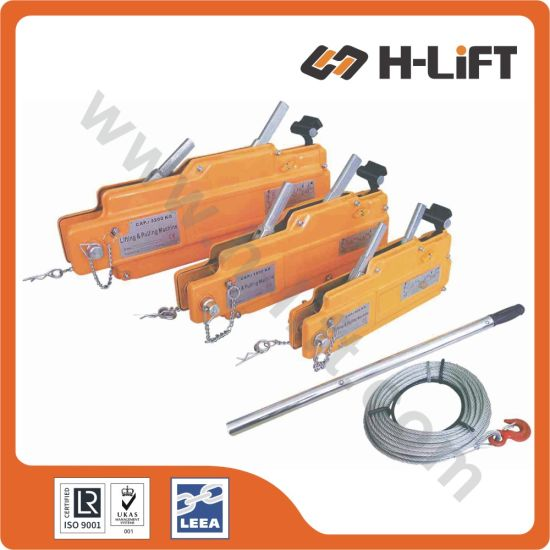 China Wire Rope Winch / Wire Rope Pulling Hoist Steel Body - China ...