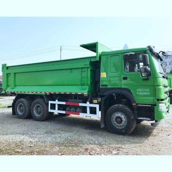 China Brand 10 Wheel New Dumper Truck Price 371HP 20 Cubic Meters Sinotruk  HOWO Tipper Dump Truck for Sale