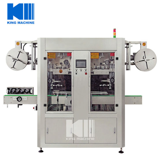 China Hot Sale Automatic Shrink Sleeve Label Machine for