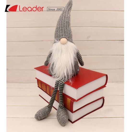 Christmas Gnome Decor.China Customized Swedish Fabric Gnome Craft With Knitting