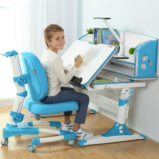 Wooden Kids Furniture Kids Desk and Chair Set pictures & photos
