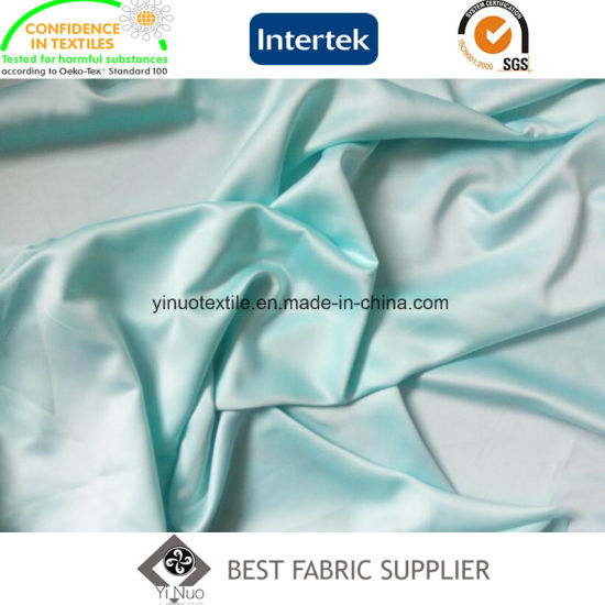 Wedding Dress Fabric Polyester 130G/M Full Dull Satin Fabric