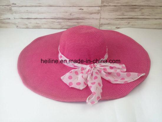 5a668758 Paper Straw Women Sun Protection Summer Beach Sun Hat. Get Latest Price