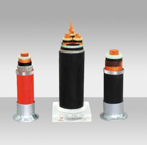 XLPE/PVC Insulated Copper/Al Rated Voltage Power Cable 3.6/6kv-26/35kv, Medium Voltage Electric Cable