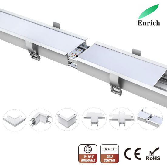 Seamless Connection Recessed LED Linear Light for Indoor