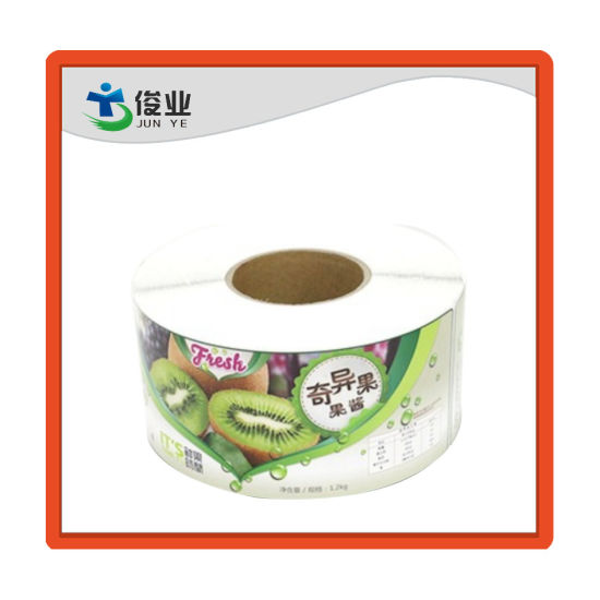 Custom Design Synthetic Paper Waterproof Private Printing Fruit Juice Label