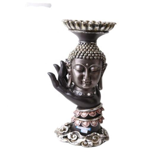 2020 Wholesale Tabletop Inner Heart Peaceful Meditating Buddha Resin Buddha Statue