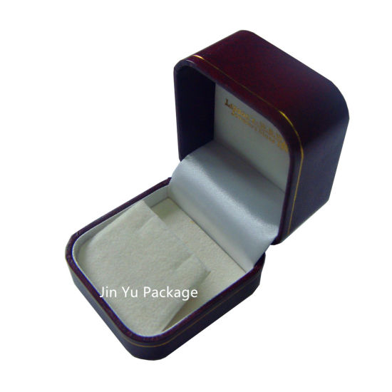Retro Necklace Gift Jewelry Box with Gold Foil Hot Stamping Logo pictures & photos