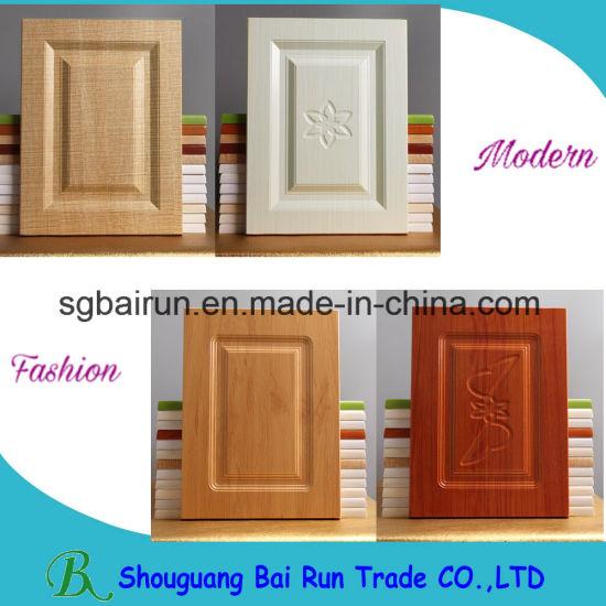 China Amercian Shaker Style Pvc Kitchen Cabinet Door China Door