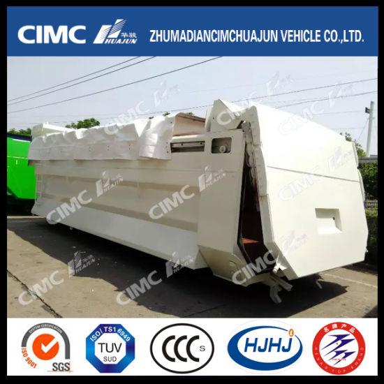 china cimc huajun dump truck upper part with cover curtain china