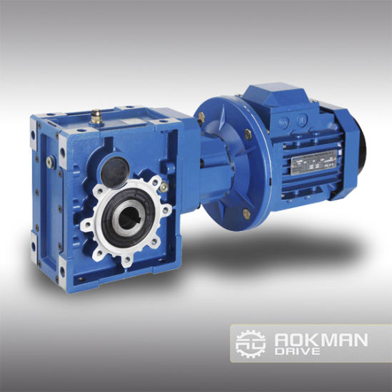 China High Quality Km Series Helical-Hypoid Gearbox pictures & photos
