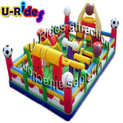 inflatable fitness room inflatable gym playground inflatable obstacle course challenge pictures & photos