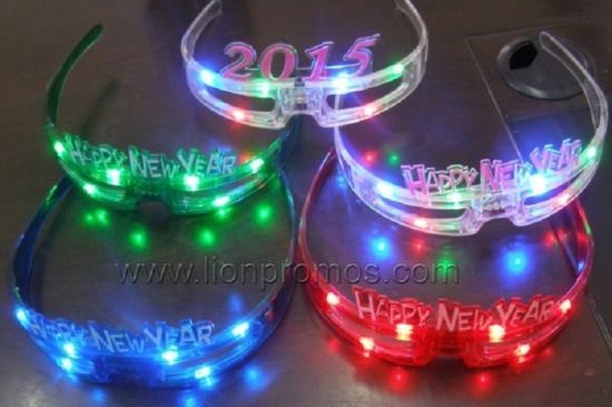 Party Celebration LED Flashing Sun Glass pictures & photos