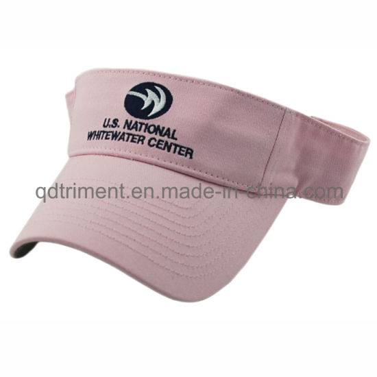 China Rubber Taping Sandwich Patched Embroidery Sport Sun Visor ... 1e4a7e32b645