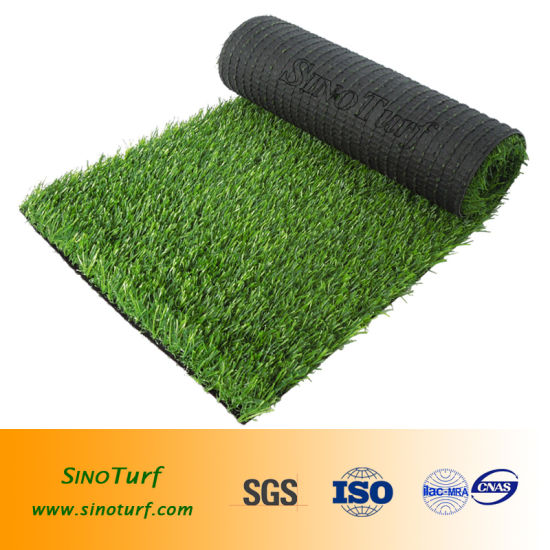 4 Colors U. V. Resistance PE Artificial Grass (EMC-TW) for Green Plastic Garden Fake Synthetic Turf pictures & photos