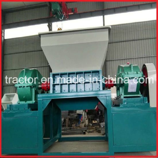 Double Shafts Plastic Bottles/Bags/Woven Bags/Waste Cloth Shredder pictures & photos