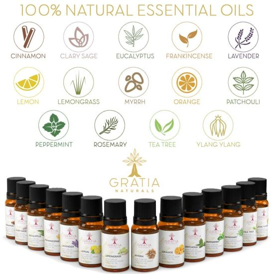 OEM Pure Message Oil Therapeutic for Christmas Essential Oil Gift Sets