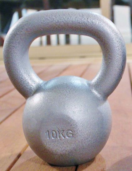 High Quality Steel Handle Kettlebell (SA40) pictures & photos