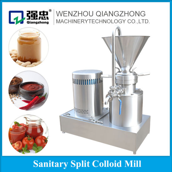 China Homogeneous Colloid Mill Coffee Bean Grinding Machine Good
