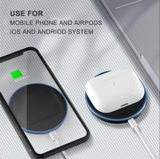 Qi Fast Wireless Charger for Smart Phones iPhone Se, iPhone 11 PRO Max, iPhone 11; PRO, iPhone 11,