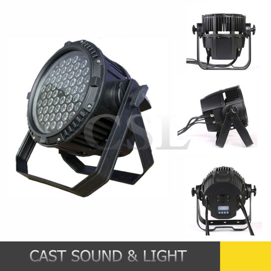 IP65 54X3w RGB 3in1 LED PAR Can Outdoor Stage Light pictures & photos