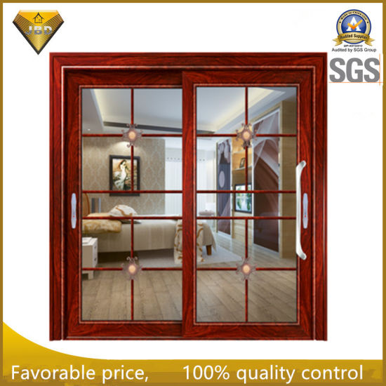Great Best Price Aluminium Interior Tempered Glass Sliding Door For Villa