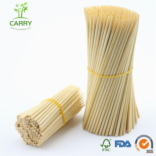 Premium Quality Biodegradable Natural Bamboo Skewers for Barbecue, BBQ pictures & photos
