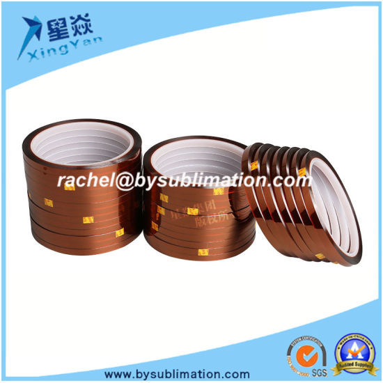 5mm Polyimide Heat Resistant Tape for High Temperature pictures & photos