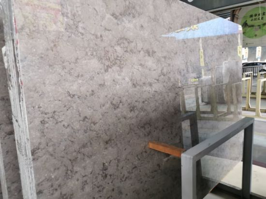 Cheap Stone Granite Slab with Dry Stone Layout for Office