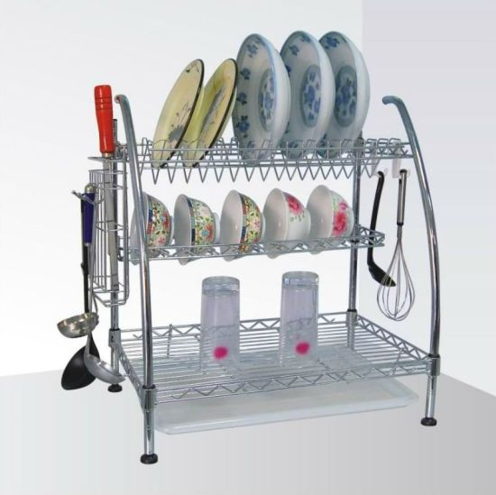 OEM New Design Carbon Steel Dish Rack pictures & photos