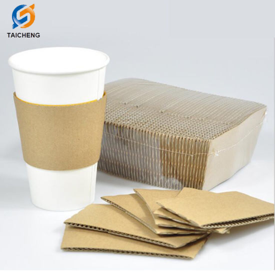 Paper Cup Sleeve Coffee Paper Cup Sleeve pictures & photos