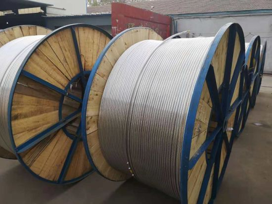 Overhead Bare Steel Core/ Aluminum / ACSR Conductor Stranded Wire pictures & photos