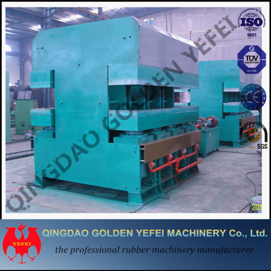 Vulcanizer Machine Hot Press Plate Machine pictures & photos