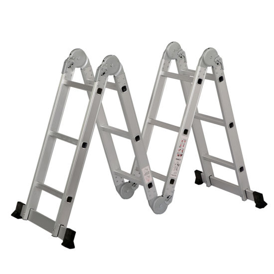 Aluminium Profile Multi-Purpose Ladder with En131 Approval pictures & photos