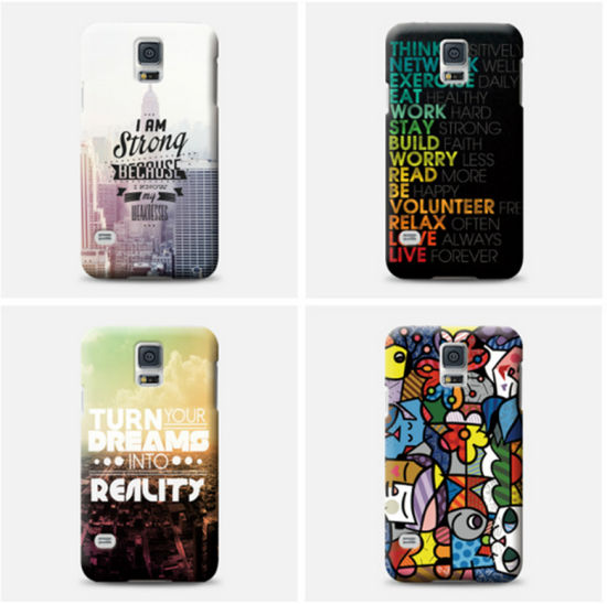 china custom design full wrap printing cell mobile phone cover cases