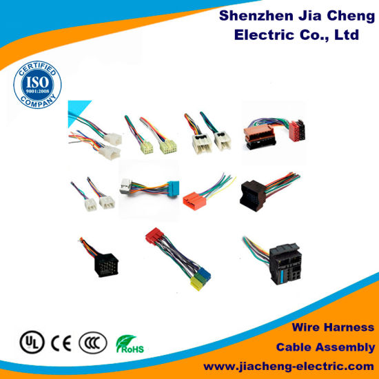 China Motorcycle Wiring Harness Connector Computer Cable For Engine Parts China Electrical Wire Harness Wire Harness Equipment