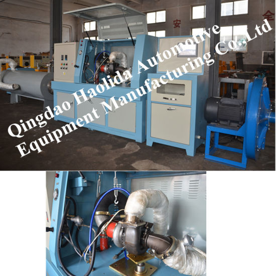 Turbocharger Testing Machine, Test Speed, Air Flow, Boost Pressure, etc pictures & photos