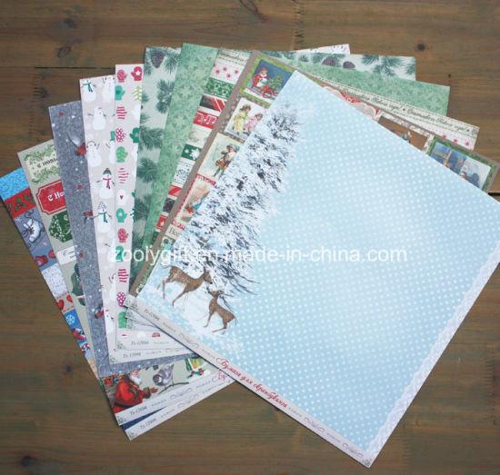 China Christmas Collection 12x12 Scrapbook Paper Pad China