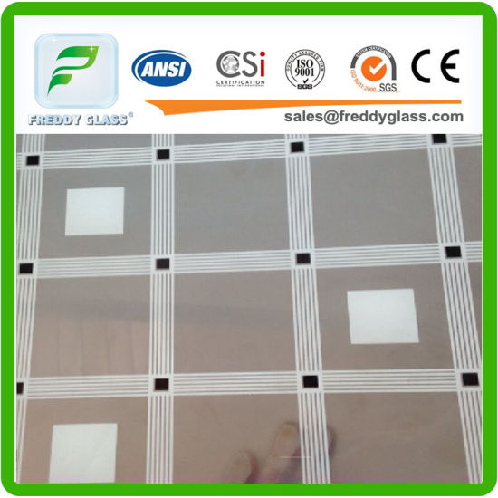 China Color Patterned Mirror Full