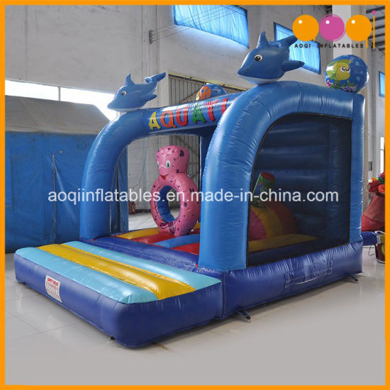 Amusement Park Ocean Jumping Inflatable Bouncer Toy for Sale (AQ01120) pictures & photos